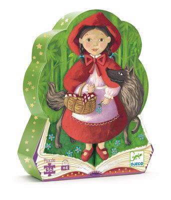 Djeco legpuzzel Roodkapje - 36 stkjs