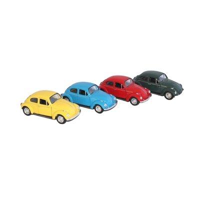 Volkswagen kever - 4 kleuren