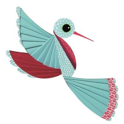 Djeco vouwset Vogels