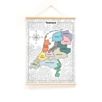 Nieuwe schoolplaat Nederland en Rekentafels