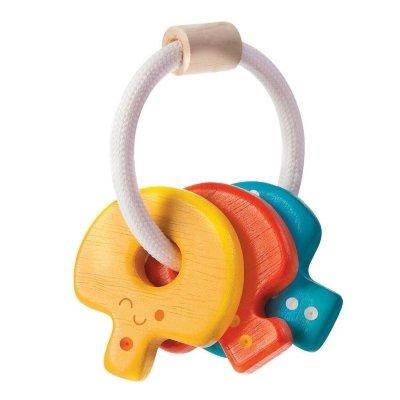 Plan Toys houten sleutels