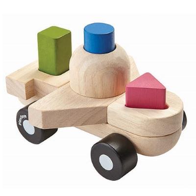 Plan Toys sorteerspel vliegtuig