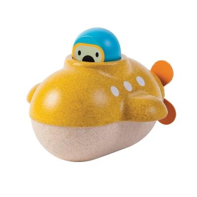 Plan Toys houten duikboot