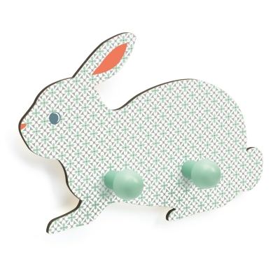 Djeco kinderkamer kapstok konijn