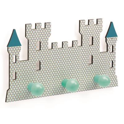 Djeco kinderkamer kapstok kasteel