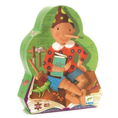 Djeco legpuzzel Pinokkio - 50 stukjes