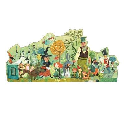 Djeco legpuzzel Sprookjesparade - 36 stkjs