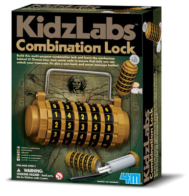 4M KidzLabs: Combinatieslot