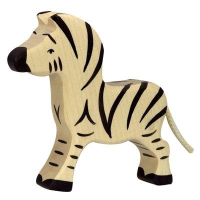 Houten Zebra klein