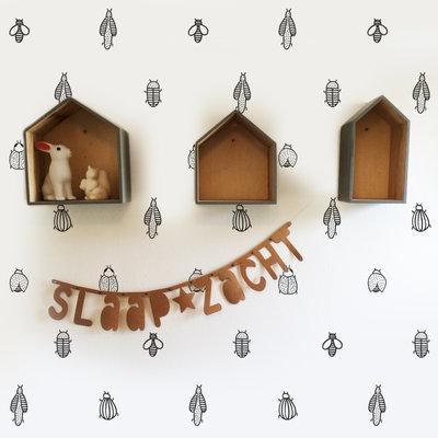Behang Beestjes - Studio Iris van Tricht