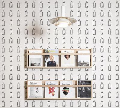 Behang Huisjes - Studio Iris van Tricht