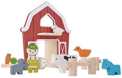 Plan Toys houten boerderij
