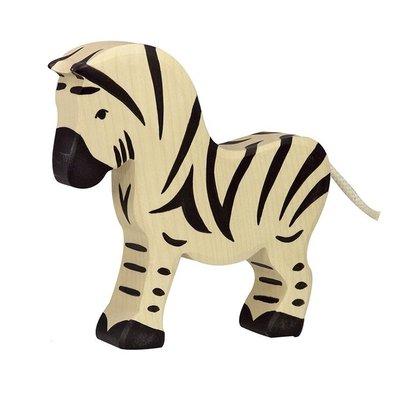 Houten Zebra groot