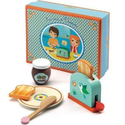 Djeco houten ontbijtset
