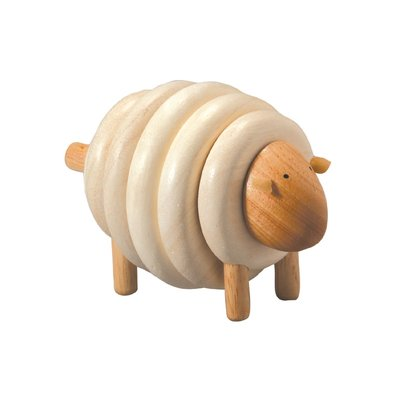 Plan Toys houten stapelschaap