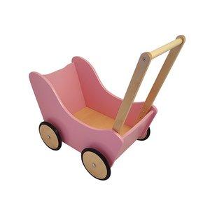 Houten-loopwagen-roze