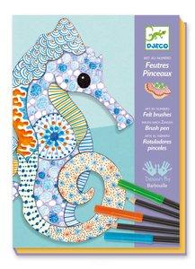 Djeco-tekenset-motiefkunst-dieren-voorkant