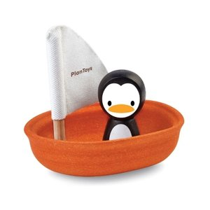 OKU-Plan-Toys-Zeilboot-Pinguin