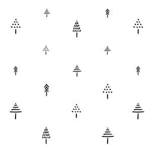 Kinderkamer-behang-iris-van-tricht-Bomen-patroon