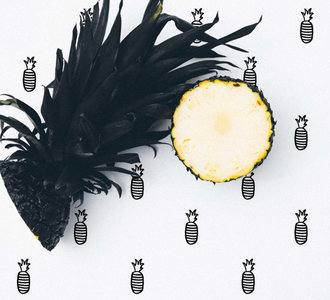 Kinderkamer-behang-iris-van-tricht-ananas-sfeer