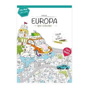 Kleurplaat-Europa