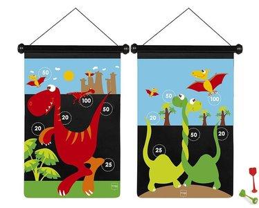 Scratch-Magnetisch-Dartspel-Dinosaurus