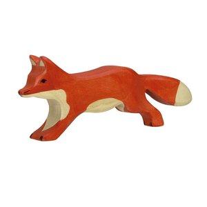 Holztiger-houten-vos-lopend