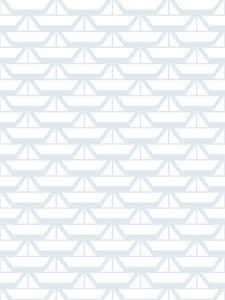 Lavmi-white-boats-wallpaper-pattern