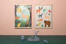 Schoolplaten-bosdieren-voor-en-achterkant