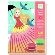 Djeco-knutseldoos-gekleurd-zand-meisjes-op-stap-voorkant
