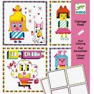 Djeco-kleurset-pixels-hippe-meisjes-verpakking