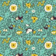 Kinderkamer-behang-Bora-Illustraties-Hide-and-Seek-patroon